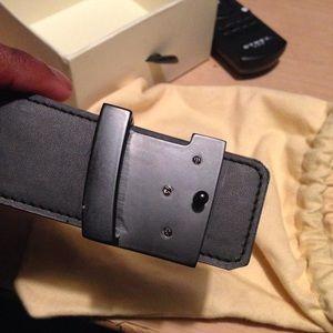 Louis Vuitton Accessories - LV Black Damier Belt